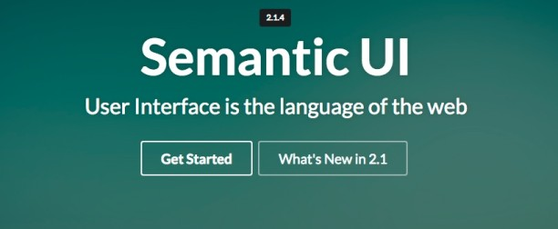Semantic UI – Great Ideas for Interfaces